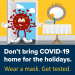 Prevent the spread of COVID this holiday season