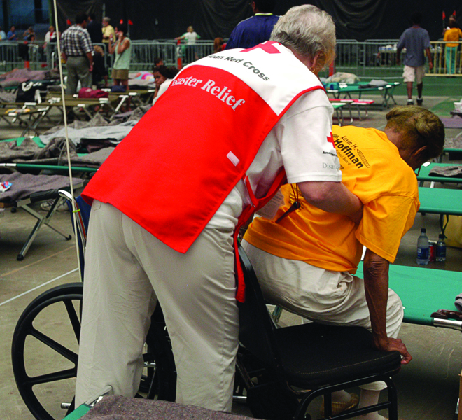 Functional access needs in a shelter